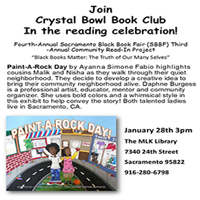 Community Read-in Project: Paint-A-Rock Day
